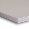 """3/8""""  White Acid Free Buffered Foam Core Boards  : 10 X 10"""