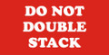 "2 x 4"" Shipping Labels - ""Do Not Double Stack"""