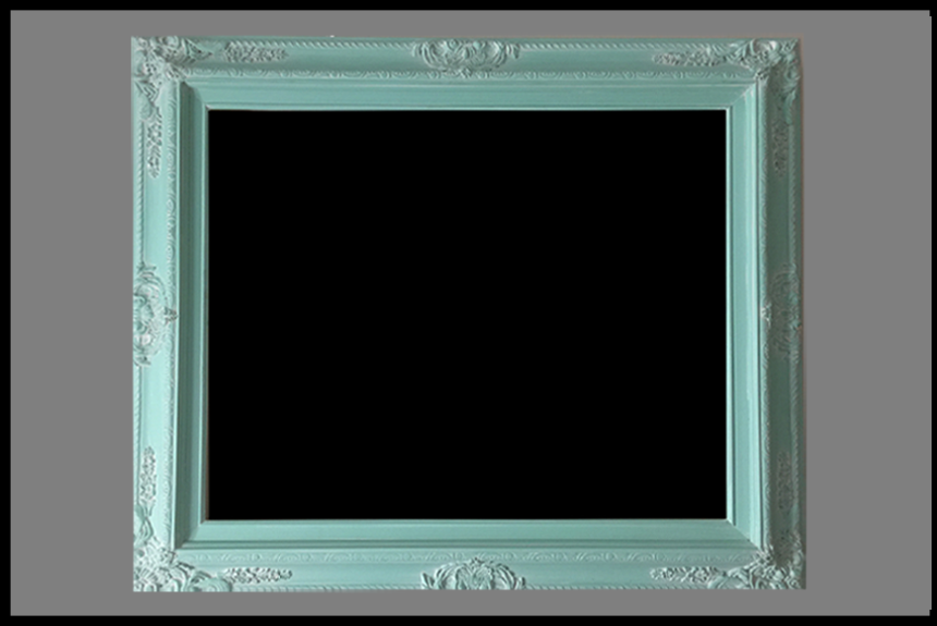 mint green - Mint Picture Frames