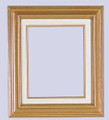 3 Inch Econo Wood Frames With Linen Liners: 7X7