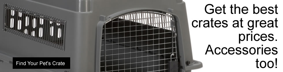 Pet Crates for Airline or Auto Travel