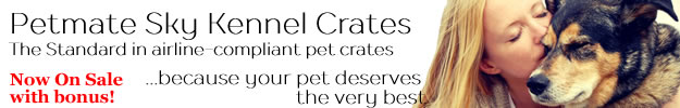 Petmate Sky Kennel - best pet crate