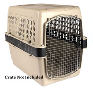 Crate extensions for extra large pet crate