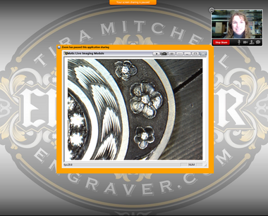 On-line Training with Tira Mitchell for jewelers, engravers and stone setters