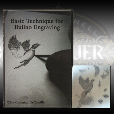 Christian DeCamillis teaches basic techniques for bulino engraving in this DVD. Also available with a resin study casting to look at each cut close up to understand his techniques.