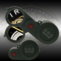 Eschenbach 3+6=9 achromatic loupe - 3 lenses in one preimium quality folding magnifier.