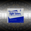 Pack of 10 Bausch & Lomb Sight Savers Pre-Moistened Lens Cleaning Tissues. Safe for cleaning lenses for microscopes and loupes.