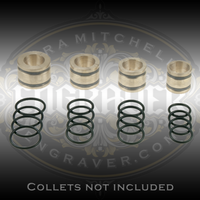 Heavy Syenset Orbital Ring Engraver users will find this set of 16 replacement o-rings a handy stand-by. Four o-rings are included for each collet. Collets are not included.