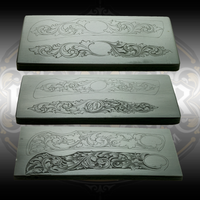 "DeCamillis Knife Casting Combo set - castings from all three of Christian DeCamillis's knife engraving kits. Designed to engrave a 3.5"" knife available through Engraver.com."