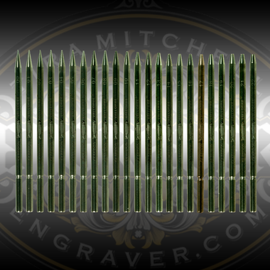 Full set of Glardon® Vallorbe Beading Tools, sizes 00-22 available from Engraver.com