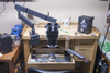 Typical bench set-up for Precision Bench jewelry and hand engraving classes