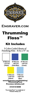 Thrumming Floss(TM) from Engraver.com.