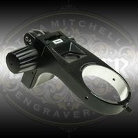 Leica Mountable Focus Arm by Engraver.com for Leica S9i, S9D, and S9E microscopes.
