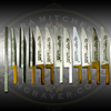 Graver Starter Set for Stone Setters and Jewelers from Engraver.com. Wide variety of High Speed Steel gravers especially for custom jewelers who want to use bead, fishtail and French Cut setting techniques