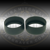Genuine Leica Eye Cups for Leica A60 or S9 Microscopes.  Shown unrolled.  These are the same eye cups as the ones shipped with the A60 Microscope and with Leica S9 Microscopes that have 10x Eye Pieces.