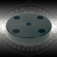 Bench and Table Top Flange for mounting Leica Microscope Boom Stands. Compatible with Leica A60 S Swing Arm Stands.
