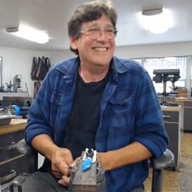 William Tuch presenting his Knife Finishing class for Precision Bench by Engraver.com