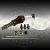 EnSet Hand Piece with three striker weights. Works with EnSet or EnSet Plus Hand Engraving and Stone Setting Tools.