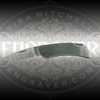 Engravable Case Stainless Steel Lockblade 3.25 in closed, 2.25 inch blade, by Engraver.com