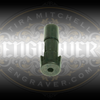 Universal Collet, 3/32 inch bore, for the PulseGraver™ at Engraver.com.  5 Easy index slots to fit gravers of any shape and right or left handed people. Designed for the PulseGraver™ and fits other engraving tools with a 1/4 inch sleeve and a tab to prevent rotation.