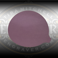 Graver Polishing Film for Carbides, 5 inch disk.  Adhesive disks that can be applied to the back of diamond wheels to polish carbide gravers.