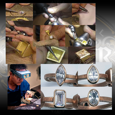 Bezel Setting using a PuleGraver® with Peter Keep by Jewellery Training Solutions available at Engraver.com