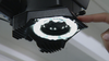 Leica A60 LED Ring Light features 16 LEDs and 10 levels of light for Leica microscopes that have a 58mm lens.