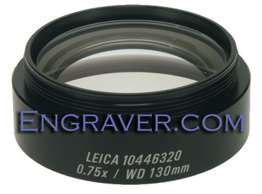 Leica 0.75x Objective Lens for the A60 Microscope
