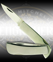 Engravable Stainless Steel 2.5 inch knife