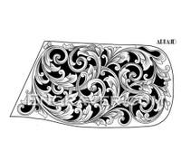 Low resolution watermarked  image of Arnaud's Herbertz bolster knife design