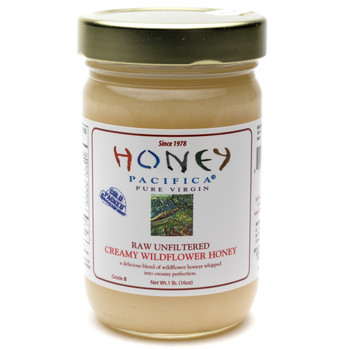 Creamy Wildflower Honey - 16 oz. Jar