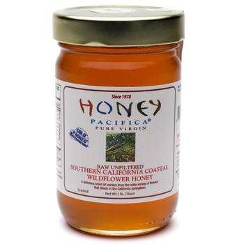California Wildflower Honey - 16 oz. Jar