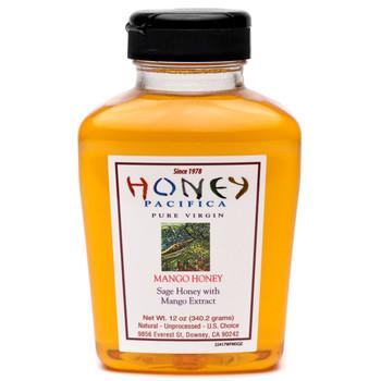 Mango Flavored Honey - 12 oz. Squeeze
