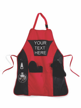 Custom Message Apron