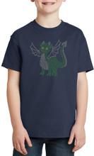 Child's Dragon Friend in Metallic Domes