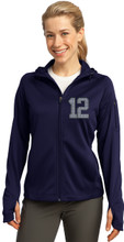 Full Zip Jacket w/Hood XS to 4XL From Sport-Tek