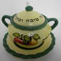 Ceramic Honey Dish (84942)