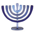Anodize Chanukah Menorah Blue (EM-HMB2)