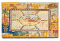 Emanuel Challah Board with Lucite Protector Bible Stories (EM-CB-2)