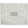 Full Embroidered Challah Cover Silver (EM-CMC4)