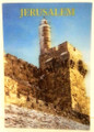"3 D Jerusalem ""Migdal David""  post card (GC-36621)"