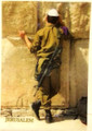 "3 D Jerusalem ""Soldier""  post card (GC-36539)"