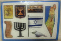 Israel Independence Holiday Symbols Cut Outs 18 pagesc(123070)