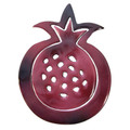 Aluminum Trivet Two Piece Set Pomegranate Shape Red (EM-MHDC1)