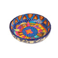 Paper Mache Bowl Jerusalem Colored ROUND SMALL (EM-PM-1C)