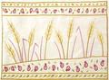 Emanuel Embroidered Tallit Bag Wheat (EM-TBC-10)