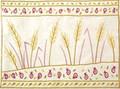 Emanuel Embroidered Tfillin Bag Wheat (EM-TFC-10)