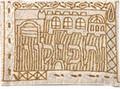 Emanuel Hand Embroidered Tfillin Bag Jerusalem Gold (EM-TFB-3)