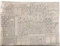 Emanuel Hand Embroidered Tallit Bag Jerusalem Silver (EM-TBE-4)