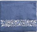Blue Tefillin Bag Pomegranates (EM-TBS-6A)